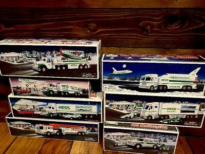 Huge Hess Truck Lot New In Box