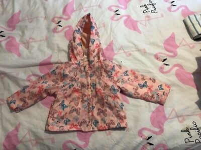 Baby Girls Coat Age 6-9 Months