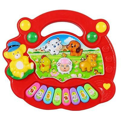 Baby Kids Developmental Educational Music Musical Animal Farm Piano Sound Toy {