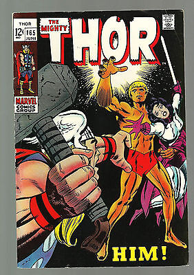 Mighty Thor 165  1st Adam Warlock June 1969