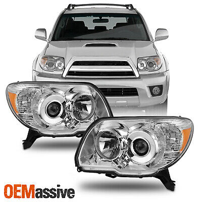 Fits 06-09 Toyota 4Runner Headlight Headlamps Replacement Left+Right 2006-2009