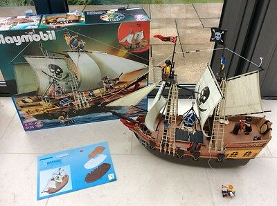 playmobil pirate ship 5135 instructions
