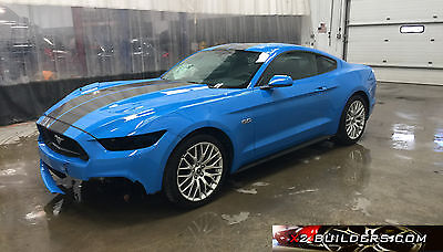 2017 Ford Mustang GT Coupe 2-Door 2017 Ford Mustang GT Coupe 2-Door 5.0L, Salvage Title, Repairable #212401