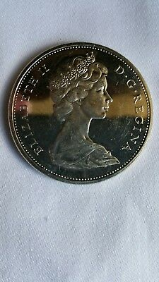 """1965 Canadian Silver Coins """"Uncirculated"""""""