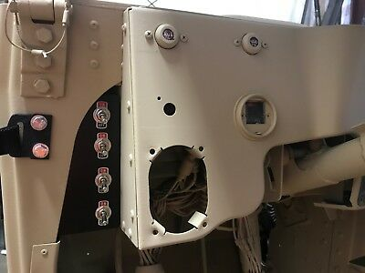 HUMVEE 4-GANG ROCKER SWITCH PANEL With SWITCHES M998 H1 Military Hummer M1123