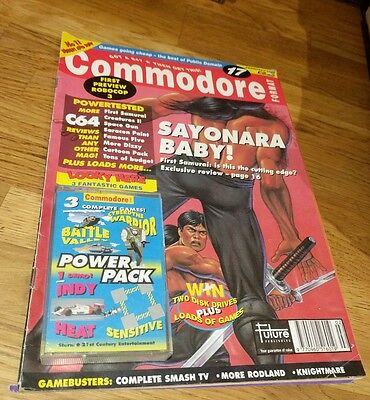33659 Issue 17 Commodore 64 Format Magazine 1992 complete with tape c64