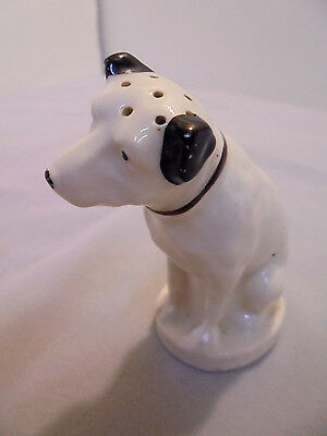 """Victor, """"His Masters Voice"""", R.C.A. Victor Shaker, 7 Holes, 3"""" Tall Vintage"""