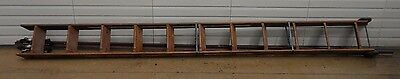 Vintage F. E. Meyers & Bro. Co. Ashland Library Ladder and Track 2427
