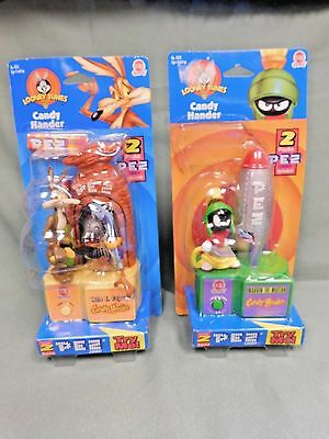 "Lot Of 2 Pez Dispensers ""looney Tunes""  Candy Hander"