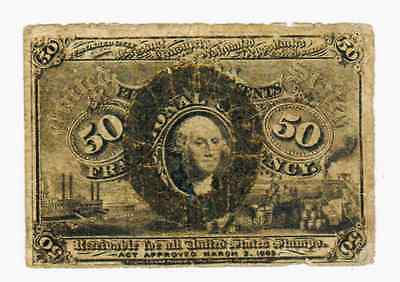 Fractional Currency  50 Cents Fr #1321 - Vg