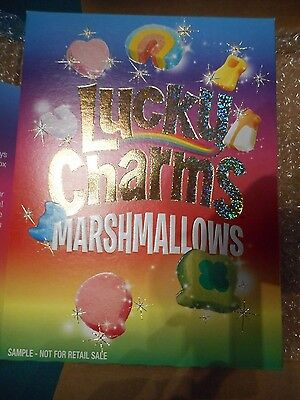 Lucky Charms- All Marshmallows- very rare, mint condition- with letter