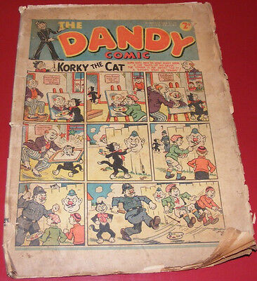 The Dandy Comic - Issue No.100 - OCT 28 1939 RARE Vintage