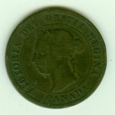 Canada 1891 Cent-Lot A2