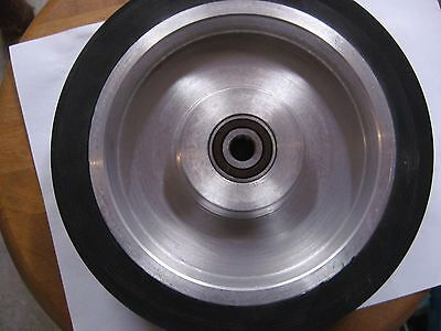 "2""x72"" Belt Sander/Grinder Rubber Contact Wheel, 200mm,(8"") Knife Making Wheel"