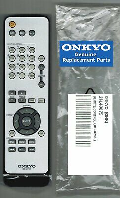 New Genuine Onkyo Remote Control Rc-875S 24140875 Fits Tx-8020 Stereo Receiver