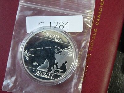 Voyage Of R.m.s Titanic Colured Oz Silver   Low Mintage  C1284