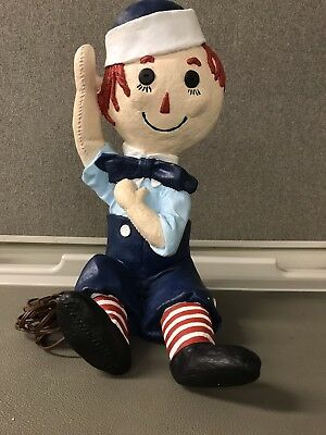 Vintage Hand made Andy Lamp From Raggedy Ann and Andy