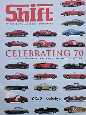 Shift, RM Sotheby's magazine, Monterey Car Show, Summer 2017