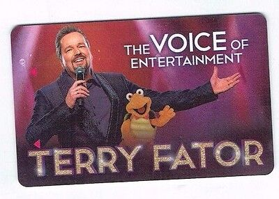 MIRAGE TERRY FATOR Room KEY Casino LAS VEGAS Hotel / The VOICE of ENTERTAINMENT