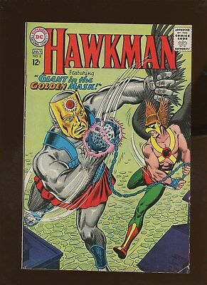 Hawkman 8 FN+ 6.5 * 1 Book Lot * Giant in the Golden Mask!!! Murphy Anderson!!!