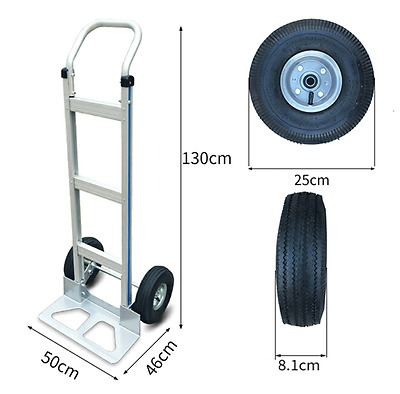 High Quality Hand Carts Truck Dolly 550 lb Capacity US Aluminum
