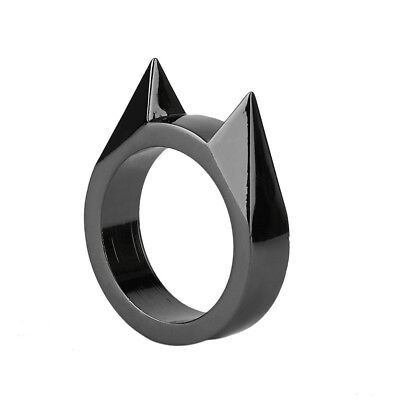 Black Color Convient Ring Window Emergency Rescue Survival EDC Tool