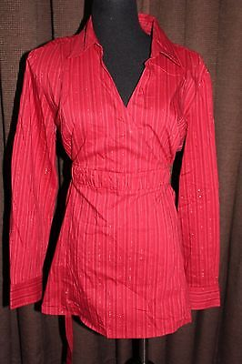 New Additions~ Maternity Shirt~ Deep Red~ Size Xl~ Career