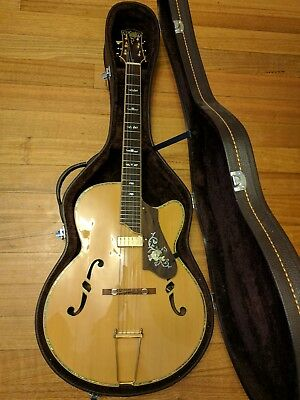 Hand Crafted Archtop Guitar