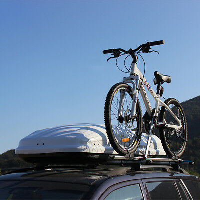 Bicycle frame Car Auto Roof Rack Side Rails Bars Baggage Holder Luggage