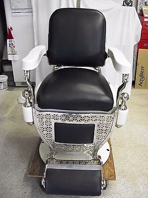 Theo-A-Kochs Antique Barber's Chair, Circa 1900, Excellent Condition
