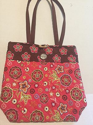Longaberger Quilted Tote Handbag New