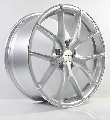 4pcs LIMOSYS 18 inch Mag Wheels Rim 5X114.3 Alloy wheels Car Rims FE062-1