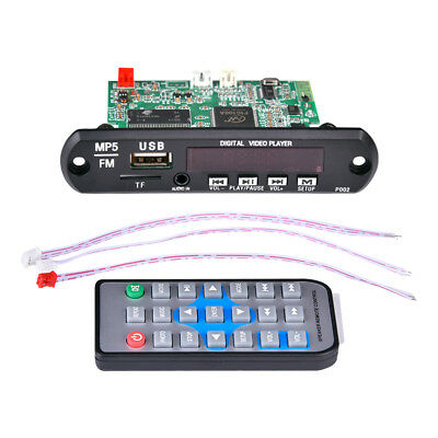 1080P Bluetooth MP5 Video Decoder Board Support Various Lossless Audio Decoding