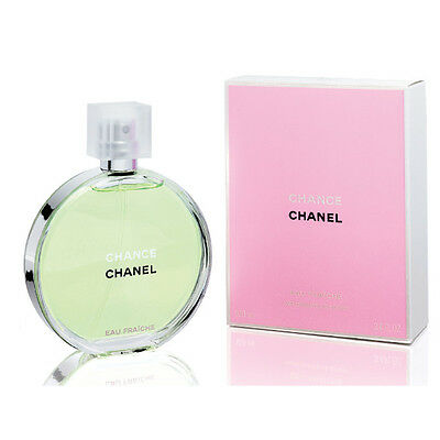 Authentic Chanel Chance Eau Fraiche, Eau De Toilette, 100ml, Brand New in Box