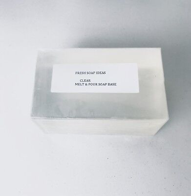 20 Kg Clear  Melt And Pour Soap Base  + Free Mould