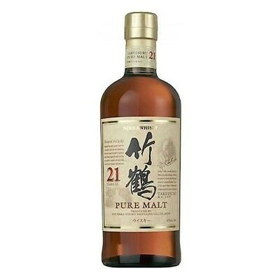Nikka Taketsuru 21 Year Old Single Malt Japanese Whisky 700ml