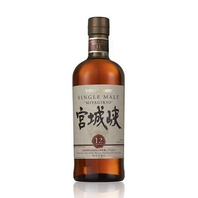 Nikka Miyagikyo 12 Year Old Single Malt Japanese Whisky 700ml
