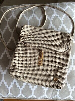 Vintage Glomesh Ladies Evening Bag with Gold Tassle - Unique and Immaculate !