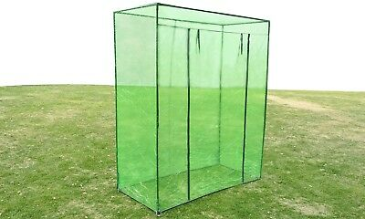 1.7X0.8X2M Walk In Greenhouse Garden Shade Green Plant Hot House Shed PVC Cover