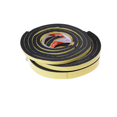 Self Adhesive Foam Sealing Tape Strip Sticky EPDM Sponge Rubber Thick BL