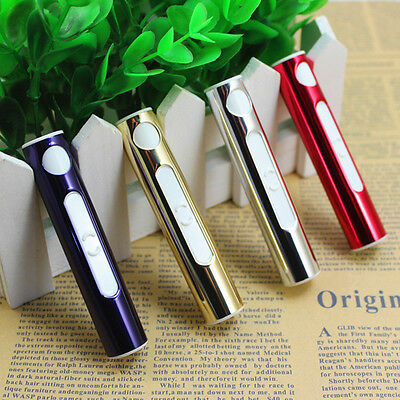 Lighter Usb Rechargeable Electronic Windproof Arc Flameless Cigarette Dual Cigar