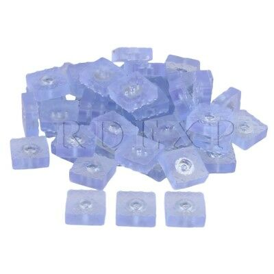50pcs Rubber Furniture Foot Chair Legs Pads Floor Protectors w/ Washers