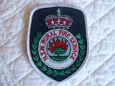 Nsw Rural Fire Service  ..  Shoulder Patch