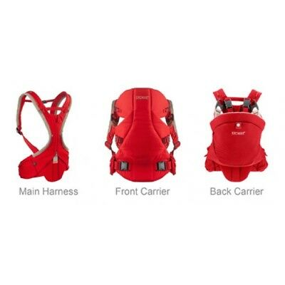 Stokke MyCarrier Harness Front & Back - Red BNIB