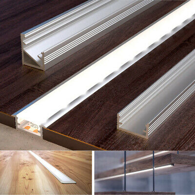2 Meters Aluminium Channel for LED Strip Light with Cover PVC Profile 5050 3528