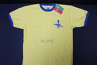 Charlie George Hand Signed Arsenal 1971 FA CUP Football Shirt