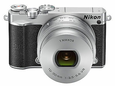 Nikon 1 J5 digital camera - silver (kit with VR 10-30mm lens)