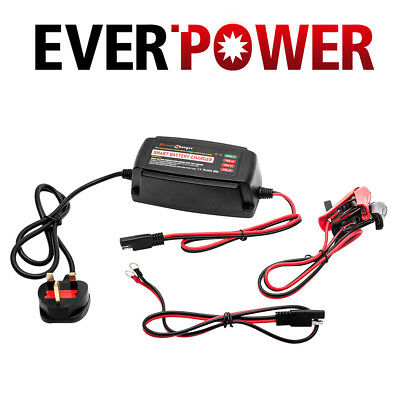 12V 5A Car Smart Battery Charger Conditioner Lead Acid Battery Motorcycle Boat
