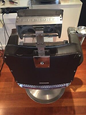 1980s Belmont Barber Chair x2