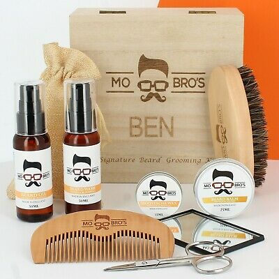 Beard Grooming Care Kits | Wash, Oil, Moustache Wax, Comb & Scissors | Scented